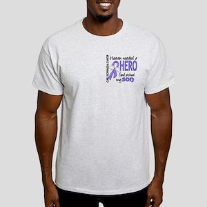 Esophageal Cancer HeavenNeededHero1 Light T-Shirt