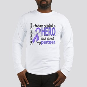 Esophageal Cancer HeavenNeeded Long Sleeve T-Shirt