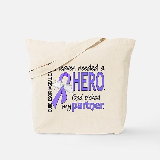 Esophageal Cancer HeavenNeededHero1 Tote Bag