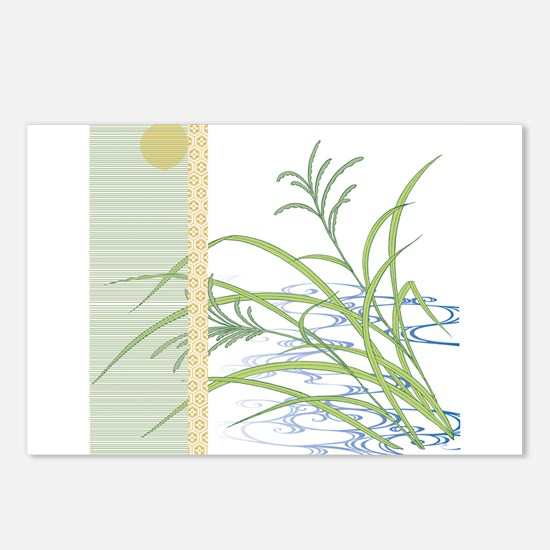 screen w/ grass and stream Postcards (Package of
