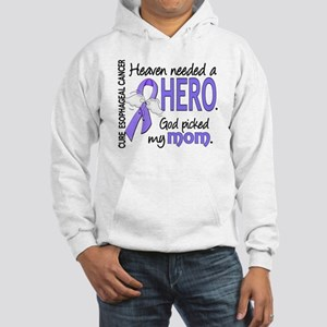Esophageal Cancer HeavenNeededHe Hooded Sweatshirt