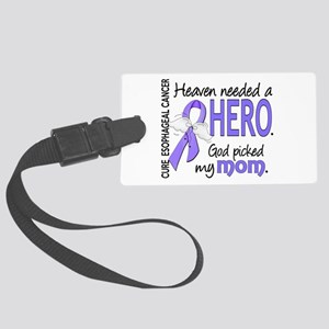 Esophageal Cancer HeavenNeededHe Large Luggage Tag