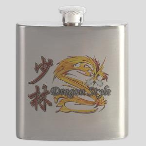 Shaolin Kanji Dragon Style Flask