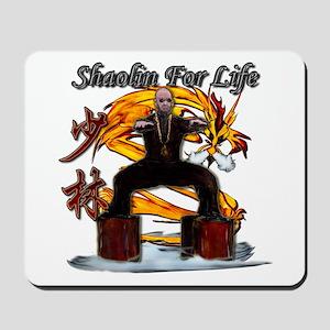Shaolin Kanji Dragon Monk Mousepad