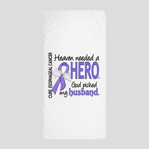 Esophageal Cancer HeavenNeededHero1 Beach Towel