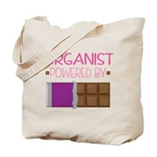 Organist Funny Music Tote Bag