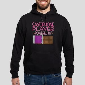 Saxophone Player (Funny) Hoodie (dark)