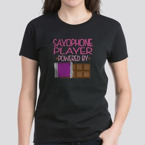 Saxophone Player (Funny) Women's Dark T-Shirt