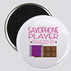 Saxophone Player (Funny) Magnet
