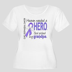 Esophageal Ca Women's Plus Size Scoop Neck T-Shirt