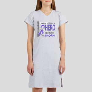 Esophageal Cancer HeavenNeededH Women's Nightshirt