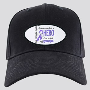 Esophageal Cancer HeavenNeededHero1 Black Cap