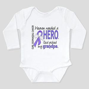 Esophageal Cancer Heav Long Sleeve Infant Bodysuit