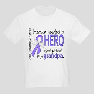 Esophageal Cancer HeavenNeededH Kids Light T-Shirt