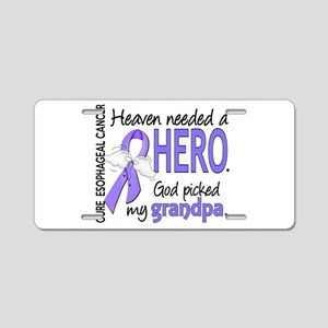 Esophageal Cancer HeavenNee Aluminum License Plate