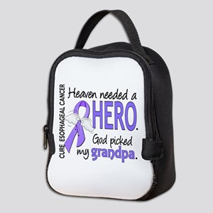 Esophageal Cancer HeavenNeededH Neoprene Lunch Bag