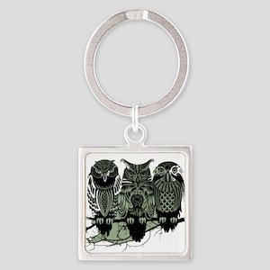 Three Owls Keychains
