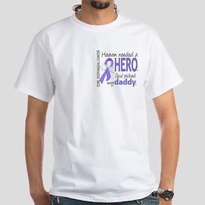 Esophageal Cancer HeavenNeededHero1 White T-Shirt