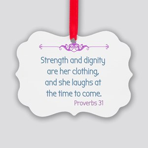 Proverbs 31 woman Ornament