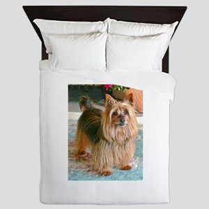 Australian Silky Terrier Queen Duvet