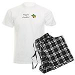 Veggie Junkie Men's Light Pajamas