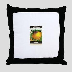 Rutabaga Throw Pillow