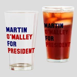Martin O'Malley President 2016 Drinking Glass