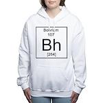 107. Bohrium Women's Hooded Sweatshirt