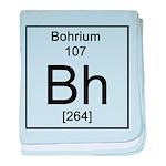 107. Bohrium baby blanket