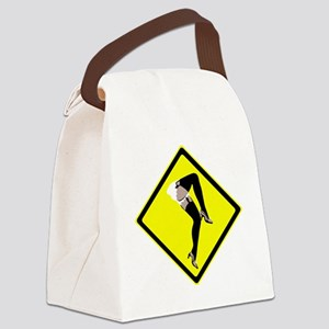 Burlesque x-ing Canvas Lunch Bag