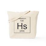 108. Hassium Tote Bag