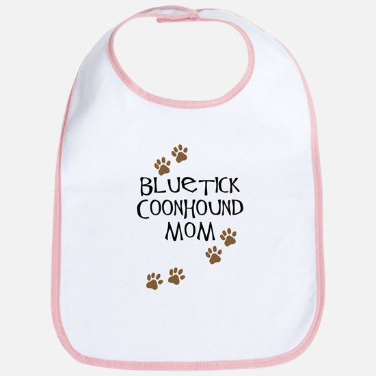 Bluetick Coonhound Mom Bib