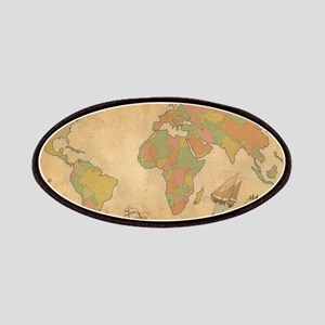 Ancient Mythology World Map Patch