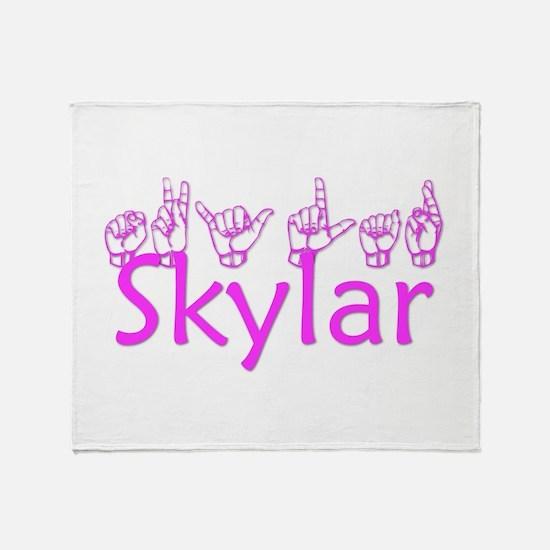 Skylar Throw Blanket