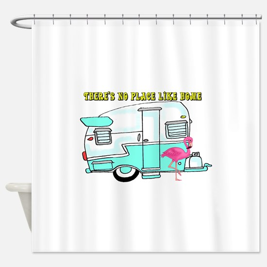 There's No Place Like Home Shower Curtain