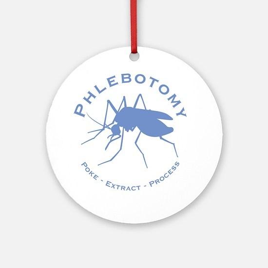 Phlebotomy / Poke Ornament (Round)