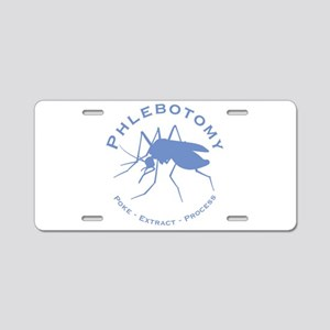 Phlebotomy / Poke Aluminum License Plate