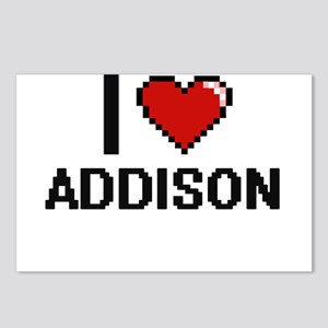 I Love Addison Postcards (Package of 8)