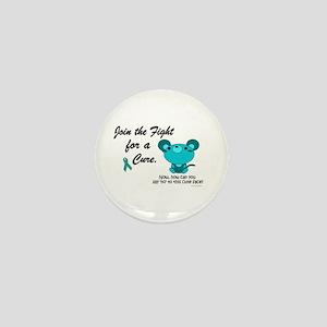 Teal Mouse 3 (OC) Mini Button