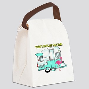 There's No Place Like Home Canvas Lunch Bag
