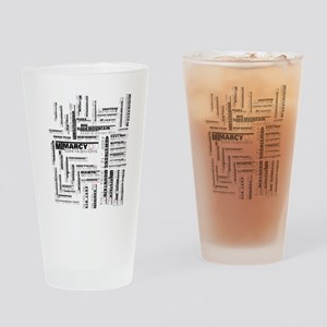 46 high peaks Drinking Glass