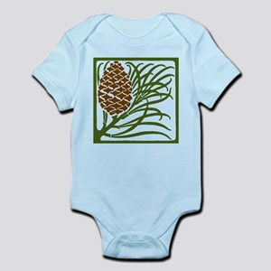 Giant Pine Cone Color Body Suit