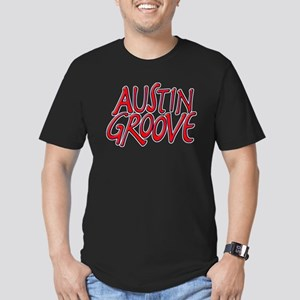 Austin Groove Men's Fitted T-Shirt (dark)