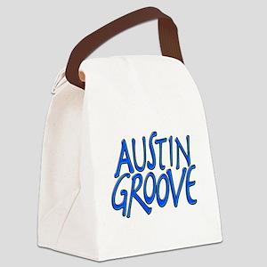Austin Groove Canvas Lunch Bag