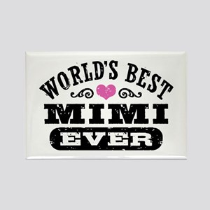 World's Best Mimi Ever Rectangle Magnet