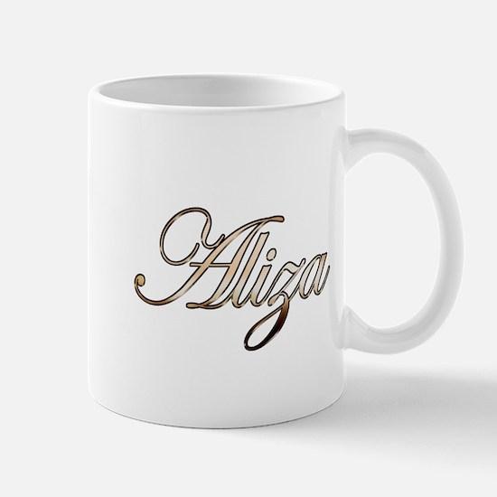 Gold Aliza Mugs