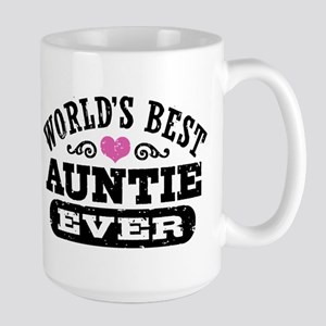 World's Best Auntie Ever Large Mug