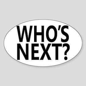 Who's Next? Sticker