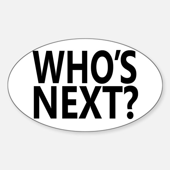 Who's Next? Decal