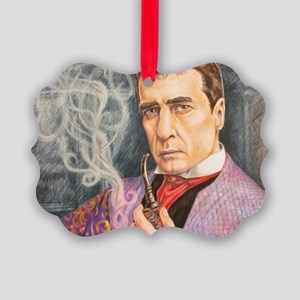 W. Gillette as Holmes Picture Ornament